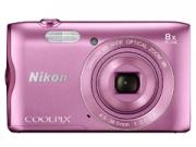 Nikon Coolpix A300 rózsaszín  digitális fényképezõgép