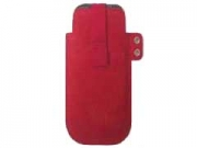 Case-Logic CLE-102 piros bõr  telefontok