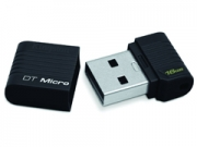 Kingston  Data Traveler Micro 16GB Black USB 2.0 pen drive