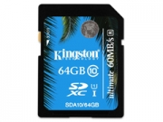 Kingston SDXC 64 GB Class10 Ultimate UHS-I memóriakártya