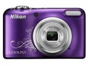 Nikon Coolpix A10 lineart lila digitális fényképezõgép