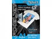 Pixeljet A4/5 Art Tshirt fehér pólóra vasalható fólia