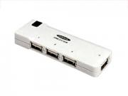 Ednet 4port USB fehér HUB