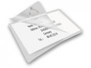 Ednet 110x80mm 130µ 10db táska-címkéhez lamináló fólia