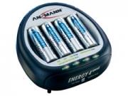 Ansmann Energy 4 + 4db 2700 mAh akkumulátor töltõ