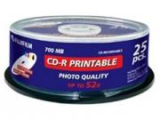 Fuji CD-R80 * 25 nyomtatható írható CD