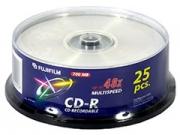 Fuji CD-R80 * 25 írható CD