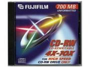 Fuji CD-RW80 újraírható CD