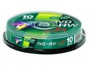 Fuji DVD-RW * 10 CakeBox újraírható DVD