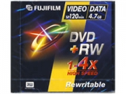 Fuji DVD+RW újraírható DVD