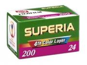 Fuji Superia 200 135/24 fotófilm
