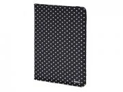 """Hama Polka Dots 7-8"""" fekete univerzális tablet tok"""