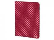"""Hama Polka Dots 7-8"""" piros univerzális tablet tok"""