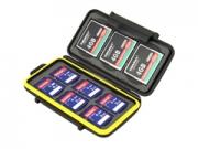 JJC MC-SD6CF3 3CF és 6SD memóriakártya tok