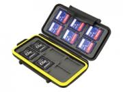JJC MC-SD12 memóriakártya tartó tok