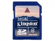Kingston SDHC Card Class4 16GB memóriakártya