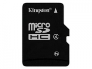 Kingston Micro SDHC Class4 8GB + adapter