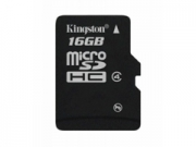 Kingston Micro SDHC Class4 16GB  memóriakártya