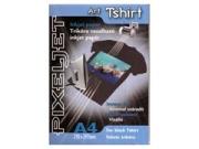 Pixeljet A4/5 Art Tshirt fekete pólóra vasalható fólia
