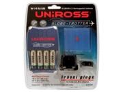 Uniross RC103545 töltõ + 4 db 2300 ceruza akkumulátor töltõ