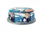 Philips írható CD-R * 25 CakeBox Printable írható CD