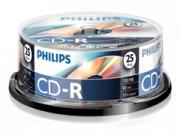 Philips CD-R * 25 CakeBox írható CD