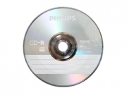Philips CD-R80 papírtokos írható CD