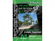 Pixeljet Premium kétoldalas A4/20 215g fényes/matt inkjet fotópapír