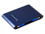 Silicon Power Armor A80 1TB USB3.0 kék külsõ merevlemez