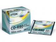 TDK CD-R80 Slim írható CD