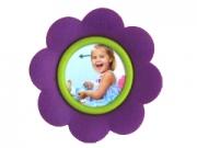 ZEP ST016P lila virágos mágnes 5*5