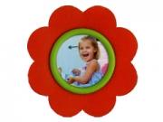 ZEP ST016R piros virágos mágnes 5*5