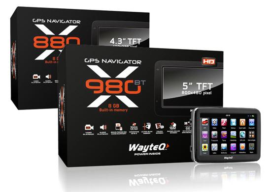 WayteQ X880-X980BT